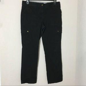 Tommy Hilfiger Straight Leg Cargo Jeans Black 16